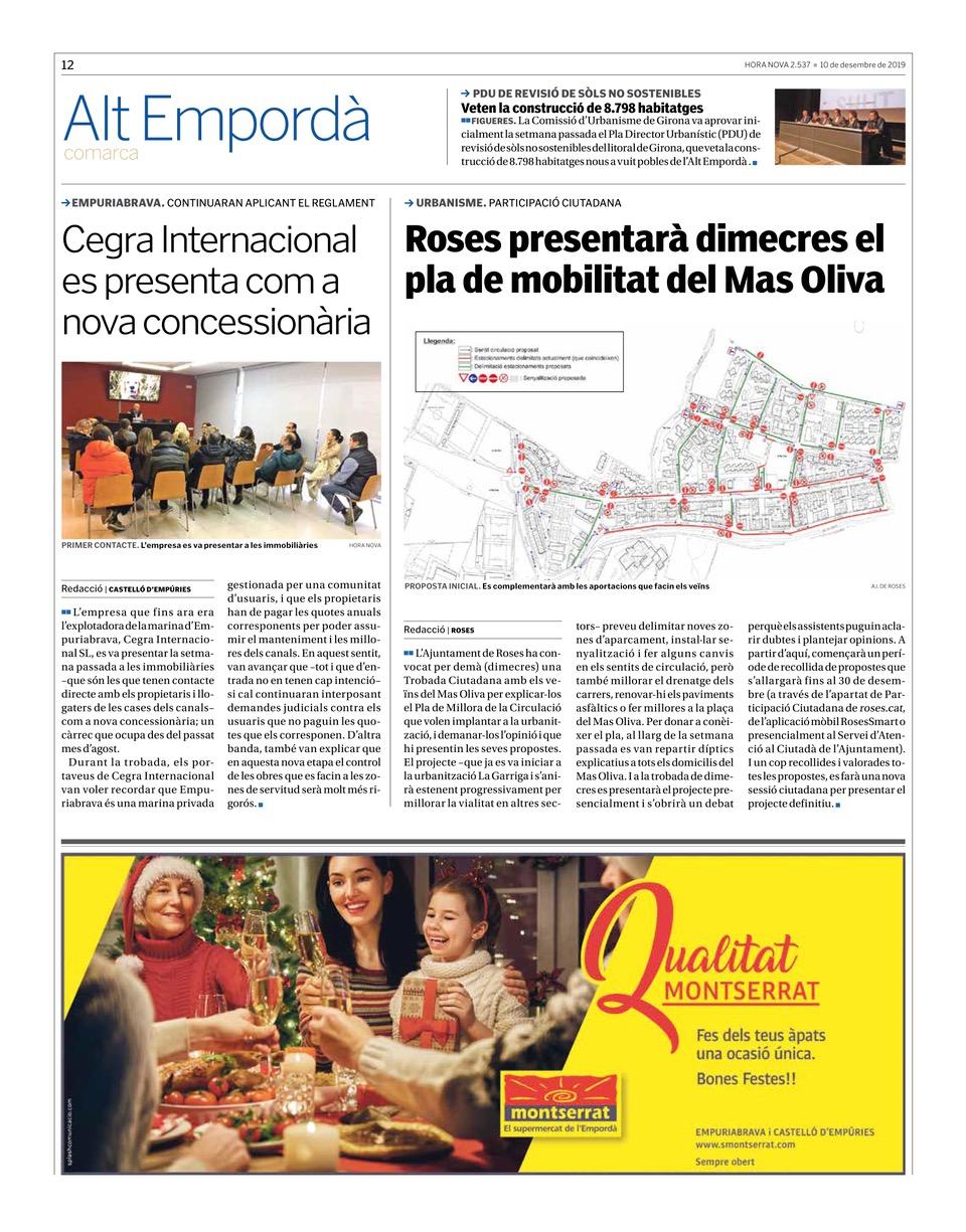 Cegra internacional nova concessionària