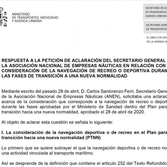 Petición de aclaración del secretario…